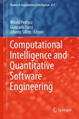 book cover: Computational Intelligence and Quantitative Software Engineering