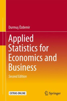 book cover: Applied Statistics for Economics and Business
