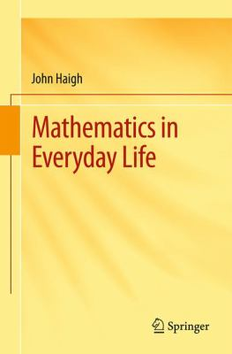 book cover Mathematics in Everyday Life