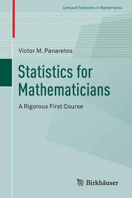Book cover: Statistics for Mathematicians: a rigorous first course