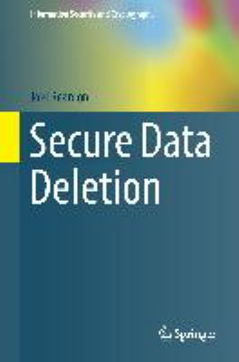 book cover: Secure Data Deletion