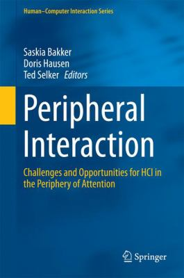 book cover: Peripheral Interaction