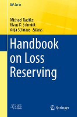 book cover: Handbook of Loss Reserving