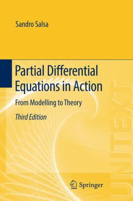 book cover:  Partial Differential Equations in Action (2016)