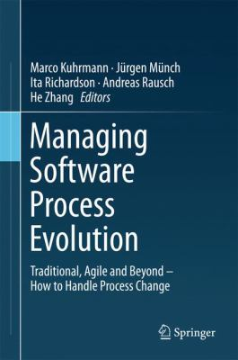 book cover: Managing Software Process Evolution