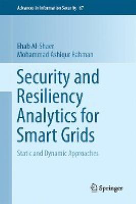 book cover: Security and Resiliency Analytics for Smart Grids