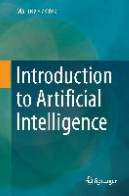 book cover: Introduction to Artificial Intelligence