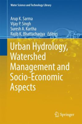 Book Cover: Urban Hydrology, Watershed Management and Socio-Economic Aspects