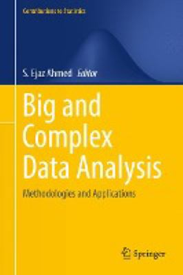 book cover: Big and Complex Data Analysis