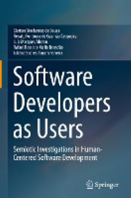 book cover: Software Developers As Users