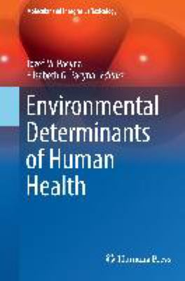 Book Cover : Environmental Determinants of Human Health
