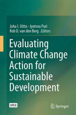 Cover of the eBook Evaluating Climate Change Action for Sustainable Development