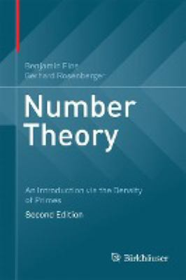 book covers: Number Theory: an introduction via the density of primes