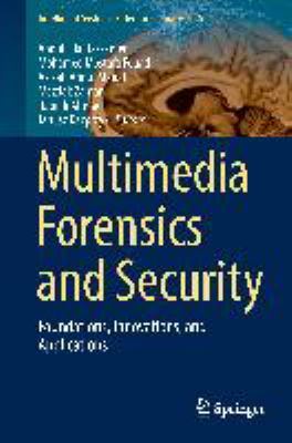 book cover: Multimedia Forensics and Securityy