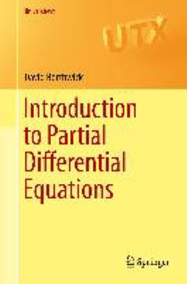 book cover - Introduction to Partial Differential Equations