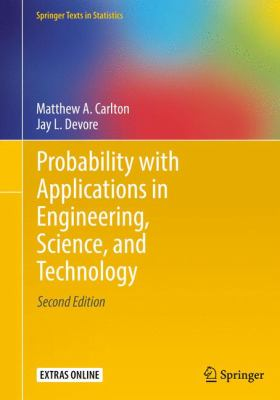 book cover: Probability with Applications in Engineering, Science, and Technology