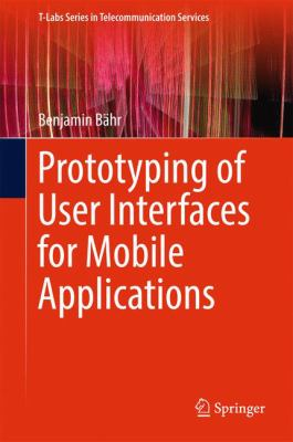 book cover: Prototyping of User Interfaces for Mobile Applications