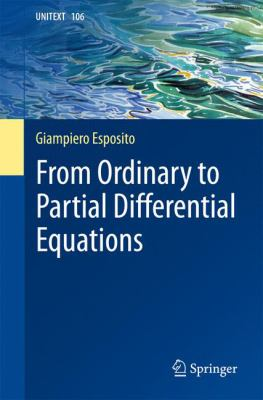 book cover - From Ordinary to Partial Differential Equations