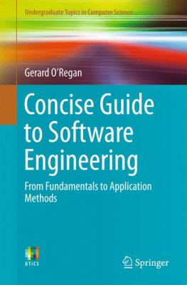 book cover: Concise Guide to Software Engineering