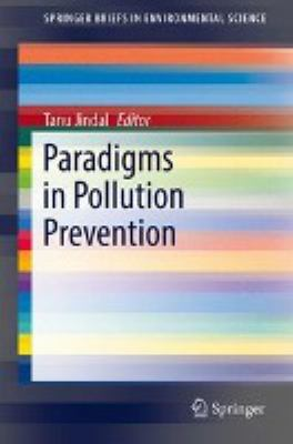 book cover: Paradigms in Pollution Prevention