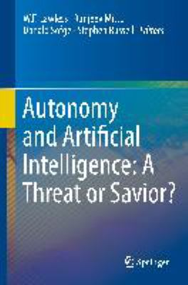 book cover: Autonomy and Artificial Intelligence