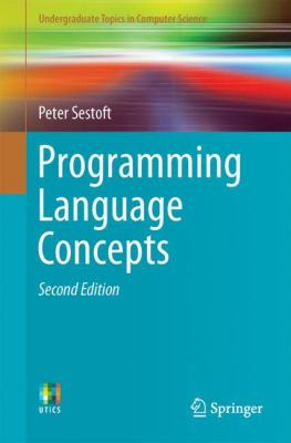 book cover:Programming Language Concepts
