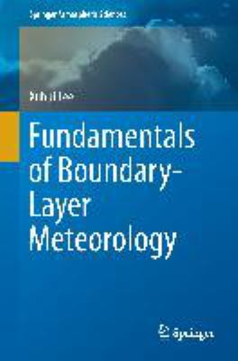 Book Cover : Fundamentals of Boundary-Layer Meteorology