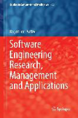 book cover: Software Engineering Research, Management and Applications