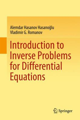 book cover: Introduction to Inverse Problems for Differential Equations