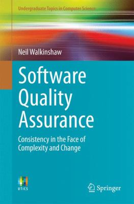 book cover: Software Quality Assurance