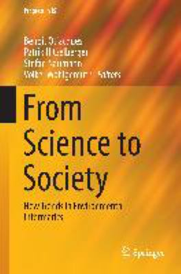 Book Cover : From Science to Society : new Trends in environmental informatics