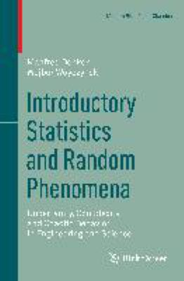 book cover: Introductory Statistics and Random Phenomena