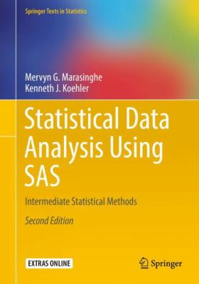 book cover: Statistical Data Analysis Using SAS