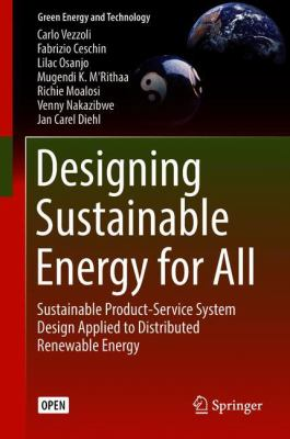 book cover: Designing Sustainable Energy for All