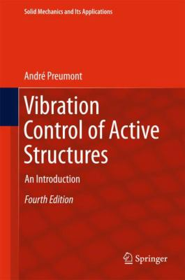 book cover: Vibration control of active structures : an introduction