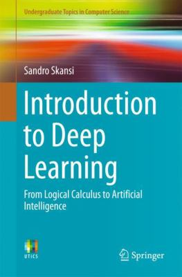 book cover: Introduction to Deep Learning