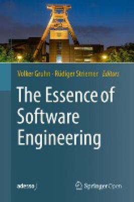 book cover: The essence of software engineering