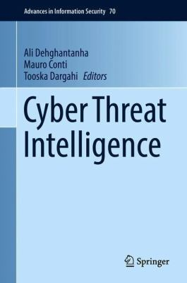 book cover: Cyber Threat Intelligence