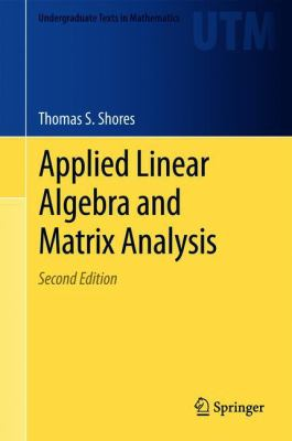 book cover: Applied Linear Algebra and Matrix Analysis