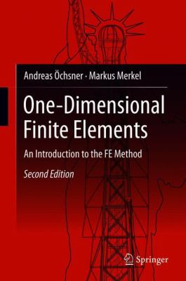 book cover: One-Dimensional Finite Elements