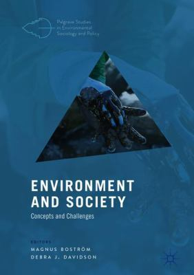 Book Cover : Environment and society : concepts and challenges