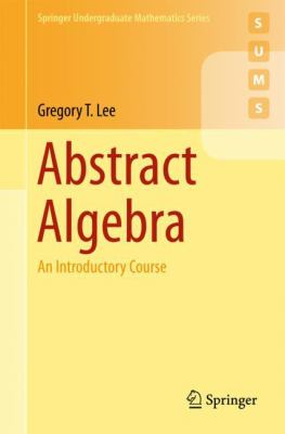 book cover: Abstract algebra : an introductory course