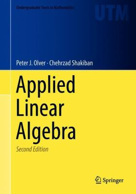 book cover: Applied Linear Algebra