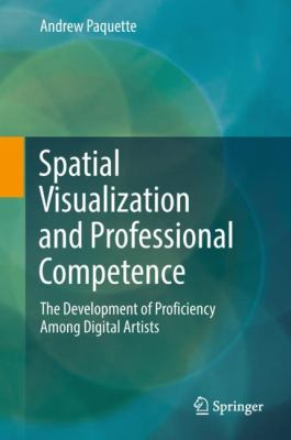 book cover:  Spatial Visualization and Professional Competence