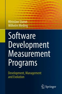 book cover: Software Development Measurement Programs