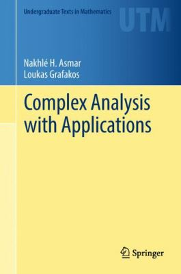 book cover: Complex analysis with applications