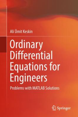 book cover: Ordinary Differential Equations for Engineers
