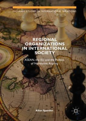 Book Cover : Regional Organizations in International Society