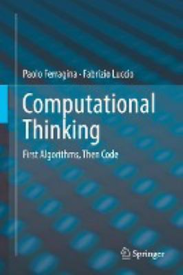 book cover: Computational Thinking