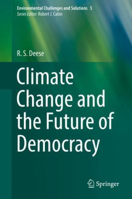 Book Cover : Climate Change and the Future of Democracy